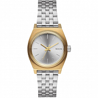Nixon Small Time Teller GOLD/SILVER/SILVER