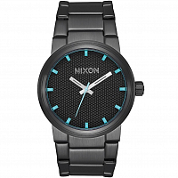Nixon Cannon All Black/Blue