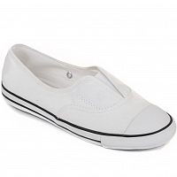 CONVERSE CHUCK TAYLOR ALL STAR COVE SLIP WHITE/WHITE/BLACK