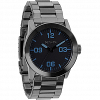 Nixon Private SS GUNMETAL/BLUE