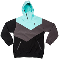 MAJESTY SHADOW SOFTSHELL mint/graphite/black
