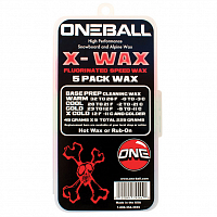 ONEBALL X-WAX - 5 PACK ASSORTED