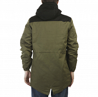 Footwork URBAN FISHTAIL PARKA Army Green