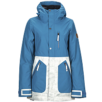 Nikita SYCAMORE JACKET TEAL/TEXTURED GREY