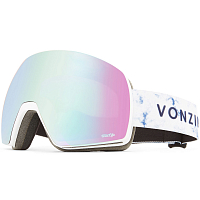 VonZipper SATELLITE WHITE SATIN / WILD STELLAR CHROME