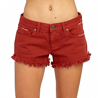 RVCA HELLO MELLOW BURNT RED