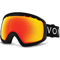 VonZipper FEENOM NLS BLACK SATIN / FIRE CHROME