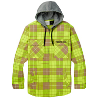 Analog AG INTGRT HDD FLNL HIGH VIZ BLOOM PLAID