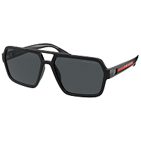 Prada Linea Rossa 0PS 01XS BLACK/POLAR DARK GREY