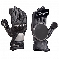 Loaded Leather Race Gloves ASSORTED