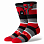 Stance DISNEY MENS DEADPOOL STRIPE RED