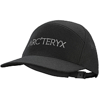 Arcteryx 7 PANEL WOOL BALL CAP BLACK HEATHER