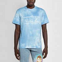 MARTINE ROSE Classic S/S T-shirt LIGHT BLUE