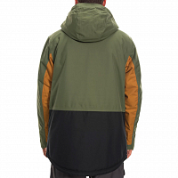 686 MNS ANTHEM INSULATED JACKET SURPLUS GREEN COLORBLOCK
