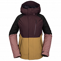 Volcom ARIS INS GORE JACKET Black Red