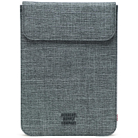 Herschel SPOKANE SLEEVE FOR IPAD AIR Raven Crosshatch