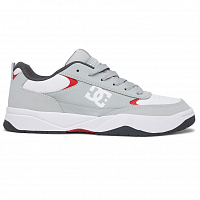 DC PENZA M SHOE GREY/RED/WHITE