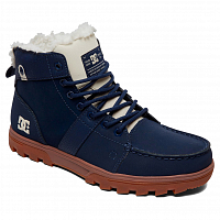 DC WOODLAND M BOOT NAVY/BLUE/WHITE