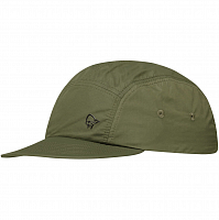 NORRONA NORRØNA FIVE PANEL TECH CAP OLIVE NIGHT