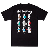 RIPNDIP FUCK EVERYTHING TEE BLACK