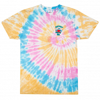 RIPNDIP ALIEN NERM TEE GOLD RAINBOW WASH