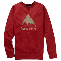 Burton M CROWN BNDD CREW TANDORI HEATHER