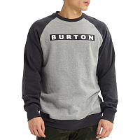 Burton M VAULT CREW GRAY HEATHER
