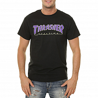Thrasher Outlined-s/s BLACK