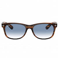 Ray Ban NEW Wayfarer STRIPED RED HAVANA/CLEAR GRADIENT BLUE