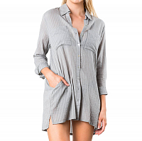 Rusty SABRINA BEACH SHIRT FOG