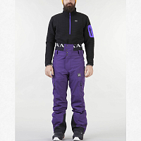 Picture organic OBJECT PANT DARK PURPLE