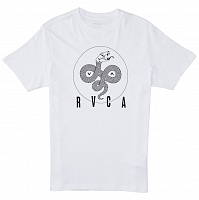 RVCA SERPENT CURVED SS White