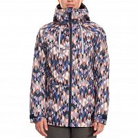 686 WMS Athena Insulated Jacket WASHED INDIGO KALEIDESCOPE