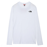 The North Face M L/S RED BOX TEE TNF WHITE (FN4)