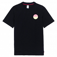 Herschel TEE TWO TONE LOGO STAMP BLACK