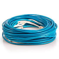 Liquid Force VISION LINE CYAN WAKE ROPE Cyan