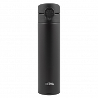 THERMOS JNI-402 ALB SS VAC. INSULATED FLASK BLACK