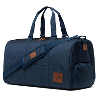 Herschel Novel INDIGO DENIM CROSSHATCH