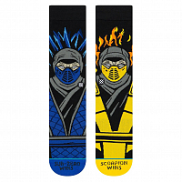 Stance FOUNDATION SUB ZERO VS SCORPION BLACK
