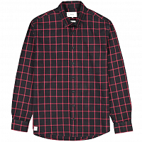 Makia TAILGATE SHIRT DARK RED