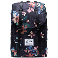 Herschel RETREAT SUMMER FLORAL BLACK