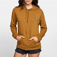 RVCA PATCH SEAL PO HOODIE Antique Bronze
