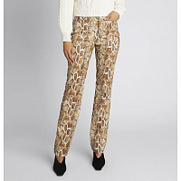 Proenza Schouler White Label Faux Stretch Snakeskin Straight LEG Pants CIDER