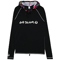 69slam CALEB RASH VEST HOODED TIGER SKULL