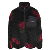OBEY MESA SHERPA JACKET Black Multi