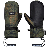Planks BRO-DOWN INSULATED MITT JUNGLE PALM