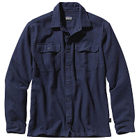 Patagonia M'S L/S FJORD FLANNEL SHIRT Navy Blue
