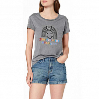 Volcom EASY BABE RAD 2 TEE HEATHER GREY