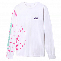 Vans EYES OPEN TIE DYE LS White