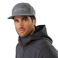 Arcteryx 7 PANEL WOOL BALL CAP GREY HEATHER